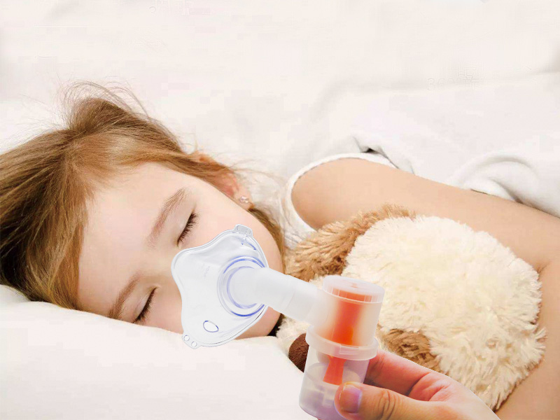 Can the child respiratory tract bad use medical oxygen atomizer?